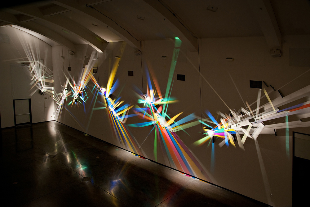 prismatic paintings from lighting by Stephen Knapp_kobi lighting studio 02